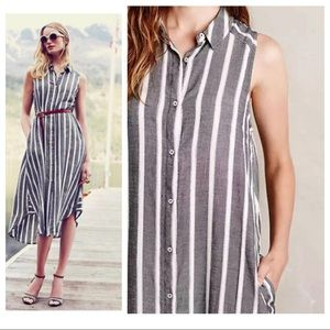 Holding Horses/ Anthropologie Striped Maxi Dress
